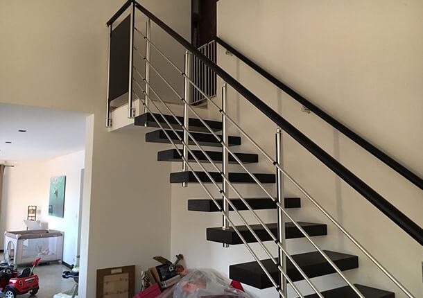 escalier sur mesure ral