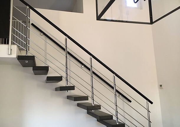 escalier sur mesure ral 3