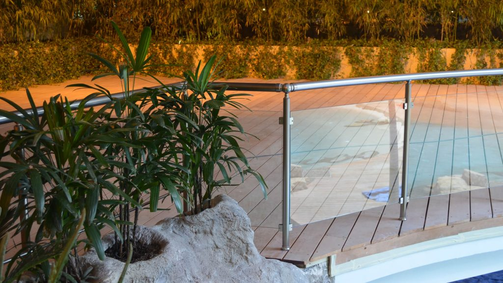 Barrière piscine mira rezo bronze 7