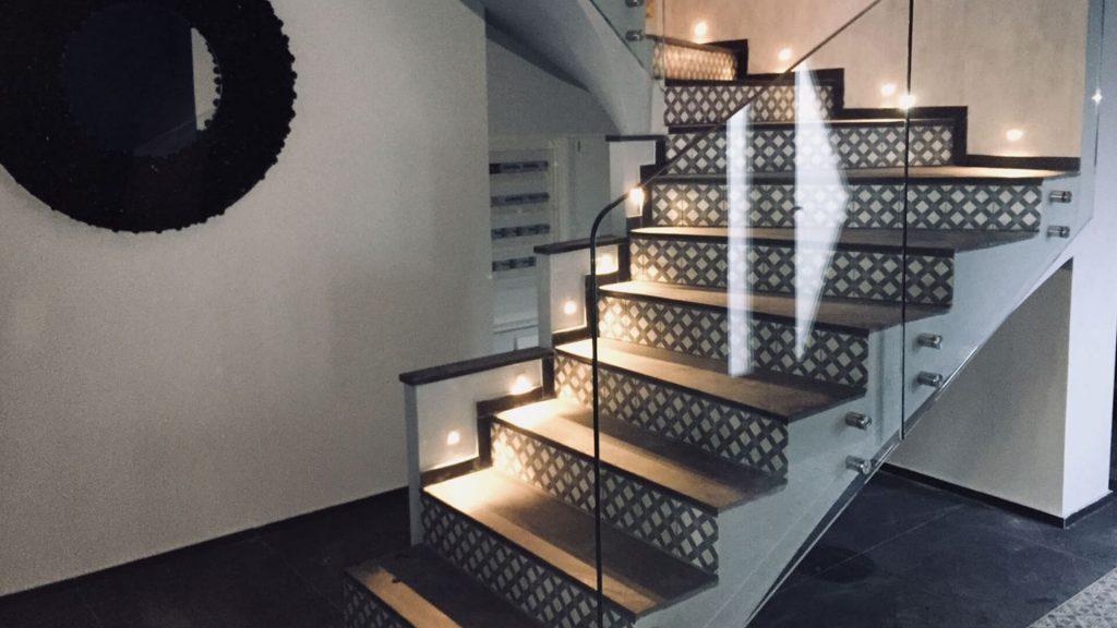 rampes d'escaliers en verre 4