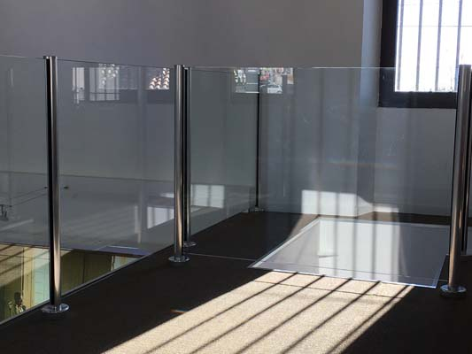 Frameless alu brillant