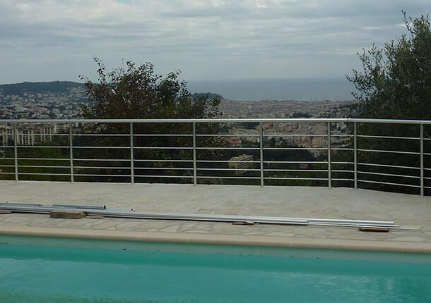 sécurité piscine barrière de sécurité piscine en aluminium barrière de sécurité piscine en aluminium